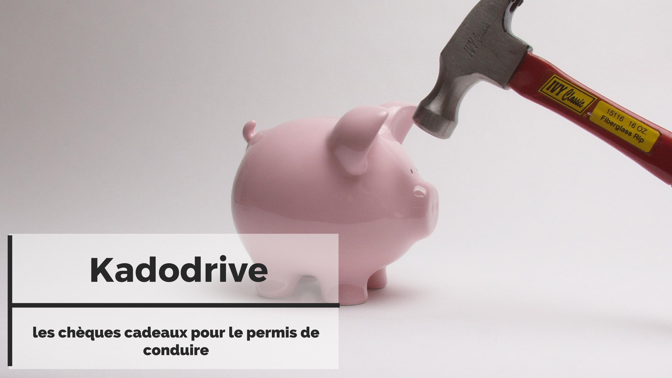 Kadodrive, les chèques cadeaux pour le permis de conduire