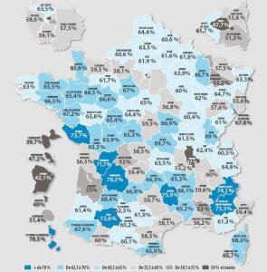 taux de réussite au permis en France 2016