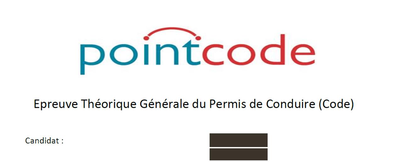 Fraude code de la route Pointcode
