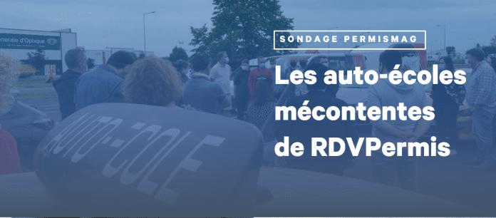 Sondage PermisMag RDVPermis Auto-écoles