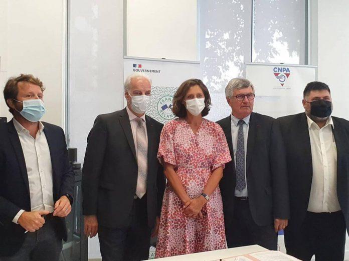 Signature charte CNPA BPI France